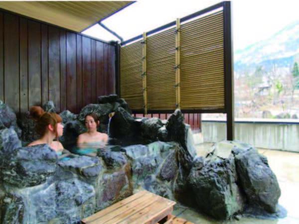 【露天風呂付和室/例】一番人気!部屋でも温泉三昧