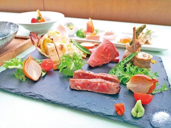 里山会席/一例 旬の厳選した食材の味わいを生かした和フレンチ越後湯沢温泉「里山の味わい」
