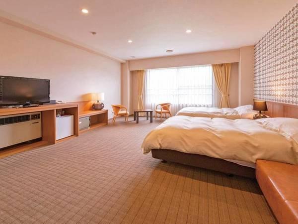 【洋室/例】清潔に整えられたベッドで眠る※禁煙