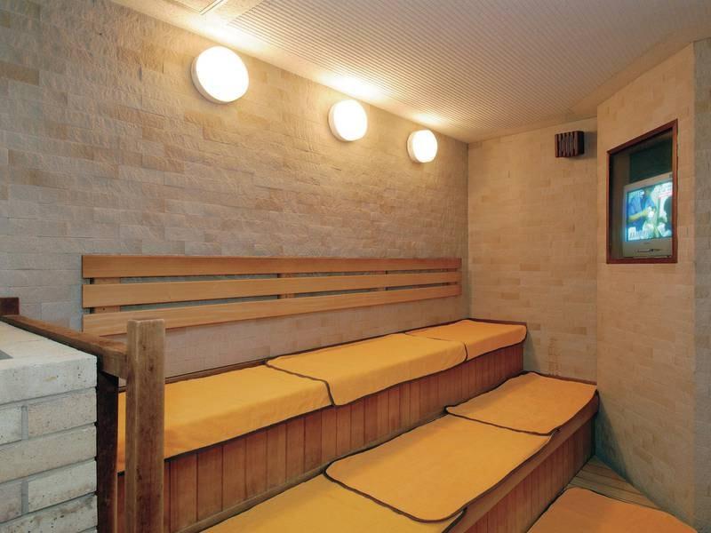 【サウナ】大浴場にはサウナも完備