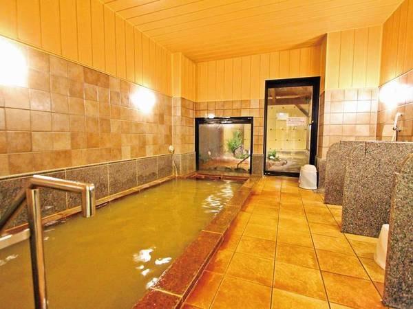 【大浴場】夜は24時まで、朝は5時から利用可能