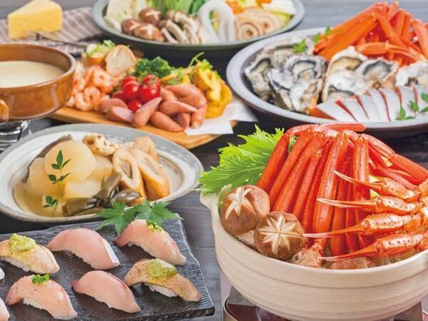 【6~8月夕食例】期間限定!豪華寿司フェアを開催
