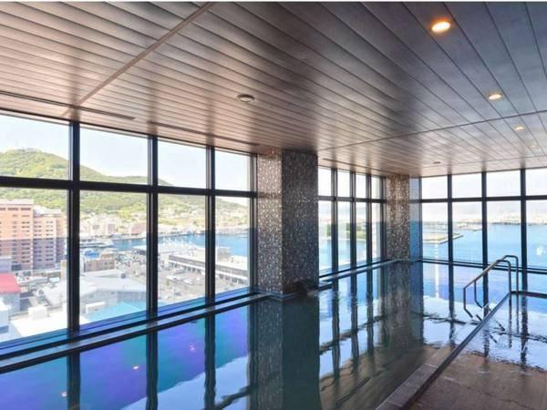 【函館国際ホテル】13Fに天然温泉展望大浴場完備!函館の魅力を満喫できる最高のロケーション