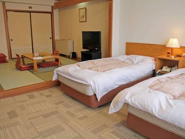 【和洋室/例】洋室ツイン+和室6~8畳のお部屋