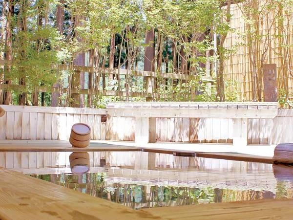 露天風呂 森の湯