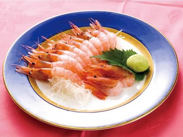 【料理一例】選べる料理 新鮮甘えび刺身