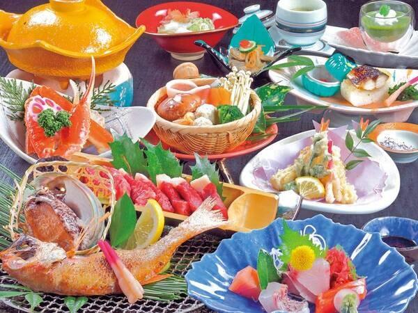 【夕食/例】豪華食材をお楽しみください♪
