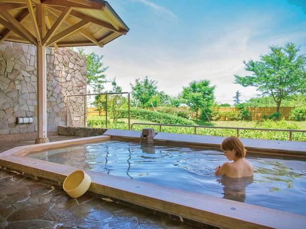 【露天風呂】開放感あふれる庭園露天風呂「荒磯の湯」