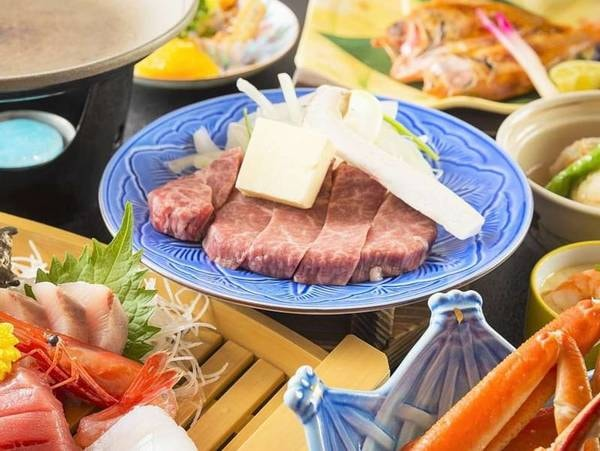 極みコース(一例)「和牛ステーキ」をどど~んとご用意!