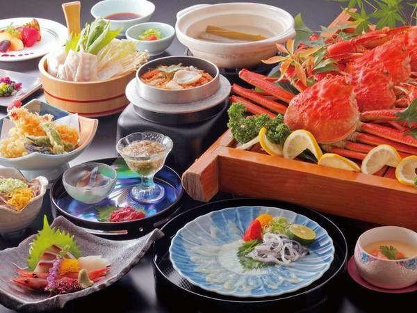 【ふぐカニ合戦プラン/例】「蟹」と「ふぐ」冬の味覚を堪能