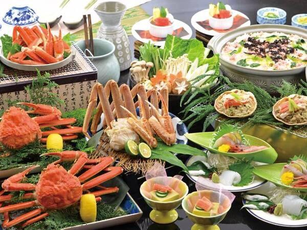 【得々かに和膳/蟹2名盛例】北陸の冬を楽しむ毎年人気のプラン!