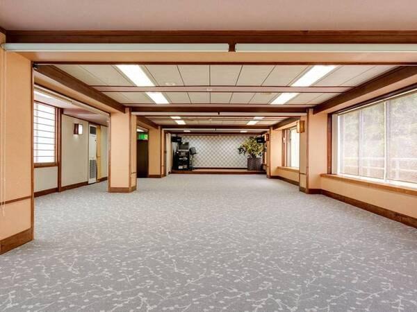 *【館内/宴会場】大人数を収容できる宴会場もご用意しております。