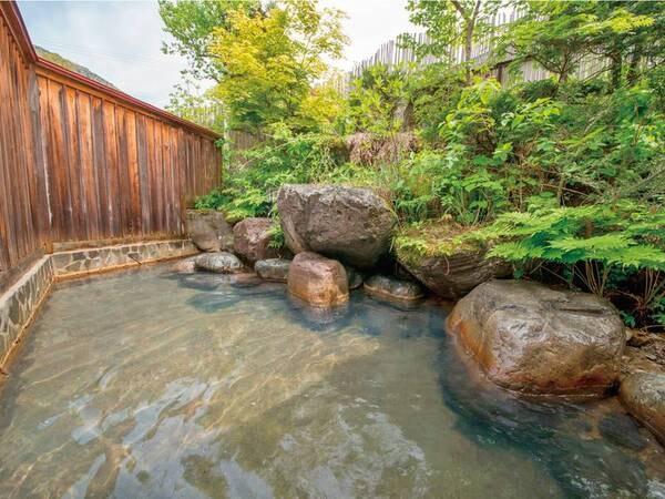 【貸切露天風呂】やさしい湯の香りが広がるプライベート空間※有料時間あり