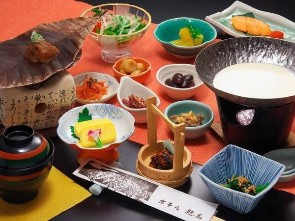 """【朝食/例】健康を意識して、体に良いとされる日本の朝ごはんを穂高風にアレンジ!""""体に優しく""""かつ""""美味しい""""朝食"""