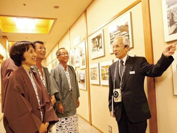 【館内ツアー】夕方5時より館内に展示された多数の芸術作品をご案内