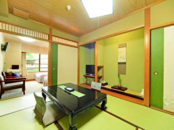 【和洋室/例】ベッドルーム+和室6畳の和洋室へご案内!