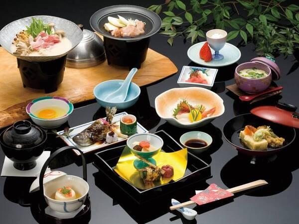 飛騨牛料理が1品ついた宿お任せ特別料理をご用意!/写真一例