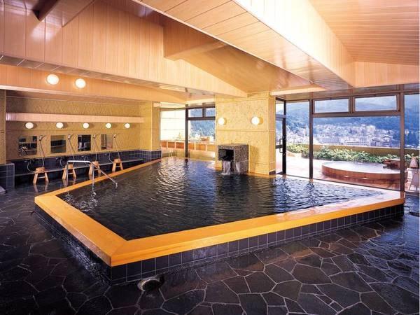 広々とした大浴場内湯!ツルツル美人の湯「下呂温泉」をご堪能下さい。