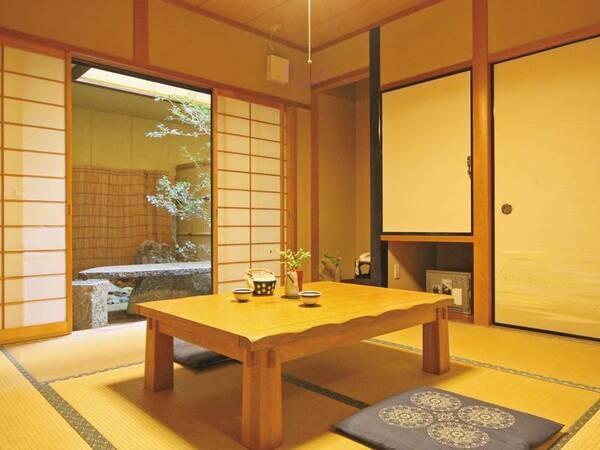【和室/例】和室(6畳以上)、広さは宿おまかせでご用意