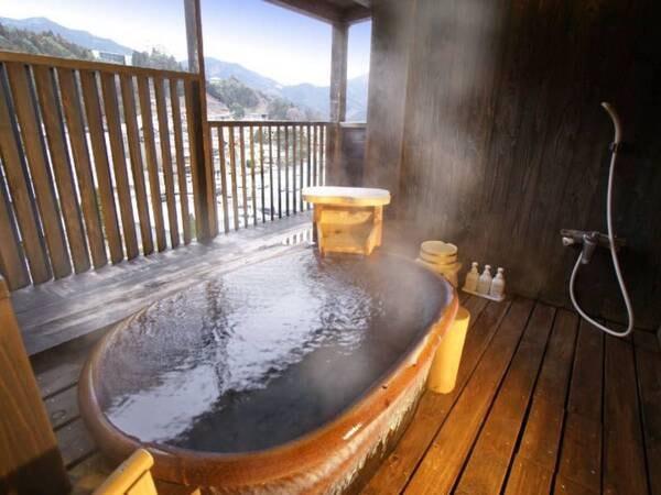 【森山館露付客室/例】贅沢なプライベートの時間を堪能