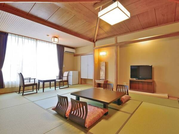 【東館和室(禁煙)/例】富士山眺望!12畳の広々和室