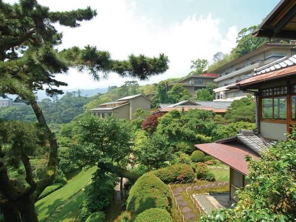 【庭園】敷地が広く一周散策するとかなりの見ごたえ