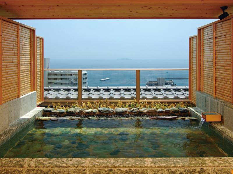 【貸切風呂】美しい景色と良泉を独り占め!