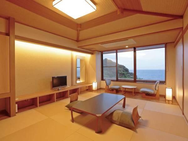 【展望客室(和室)/例】駿河湾の絶景一望(和室または和ベッドの宿おまかせとなります。)