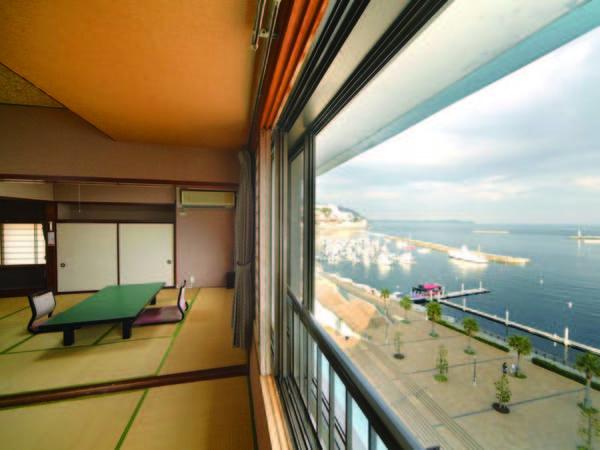 【海側客室/例】海を一望できるオーシャンビュー和室をご用意