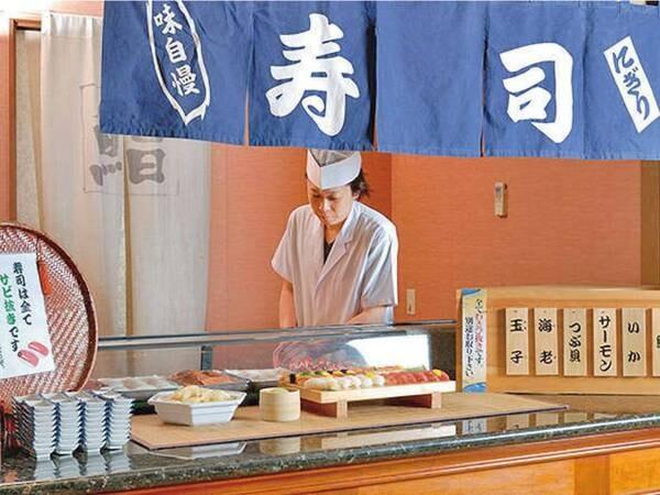 【バイキング/例】職人が目の前で握るお寿司も食べ放題!