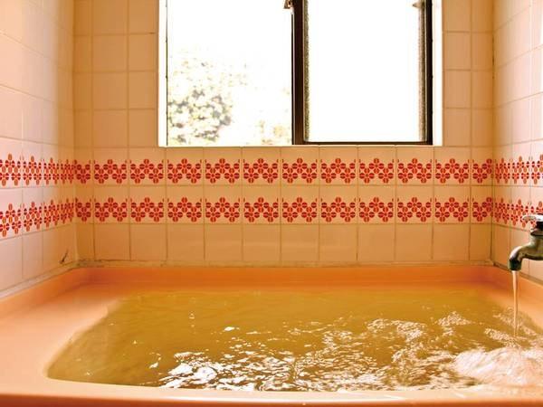 【客室風呂/例】掛け流しの良湯をお部屋で楽しめる