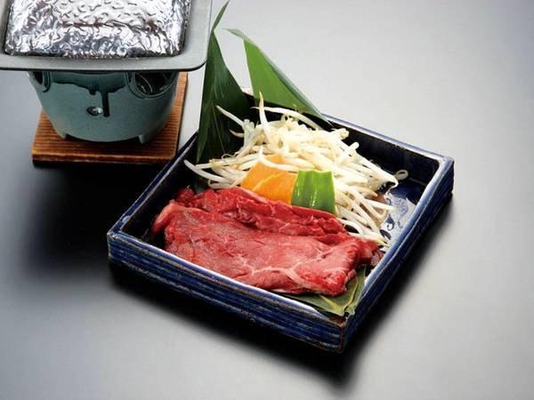 【活あわび・三河牛・蟹足三大味覚/例】みかわ牛陶板焼き