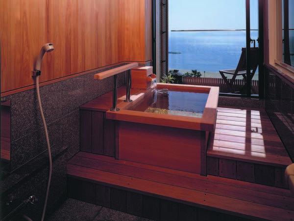 【露天付客室/例】海眺望と露天を1人占めできる『露天風呂付き客室』
