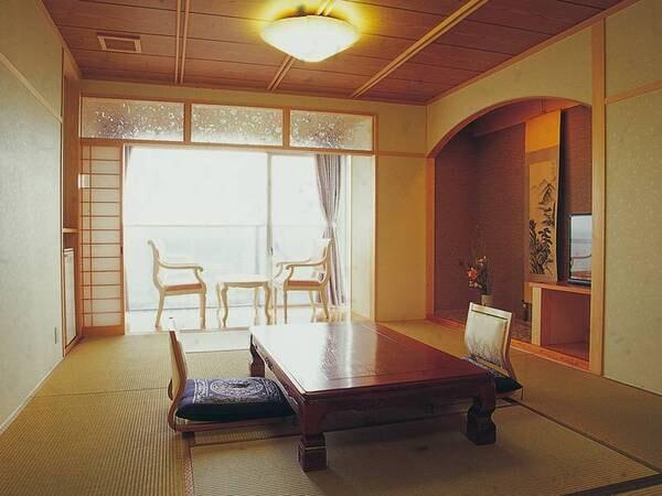 【和室/例】オーシャンビューの10畳和室をご用意