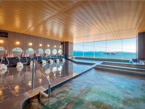 【吉良かん 吉良観光ホテル】愛知県初のスロープカーで野天風呂まで海を望みながら楽々移動。季節の海鮮料理と温泉を満喫