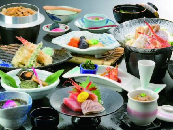 三河名物!家康鍋(八丁味噌仕立の海鮮鍋)をメインとした会席約13品/イメージ