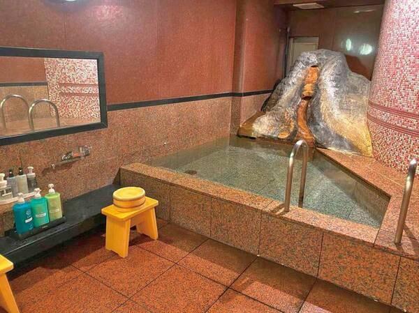 【貸切風呂】1回1080円の貸切は50分利用でゆっくり利用できる