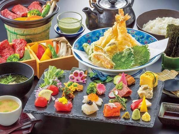 【宝石寿司御膳/例】彩り鮮やかなメニュー