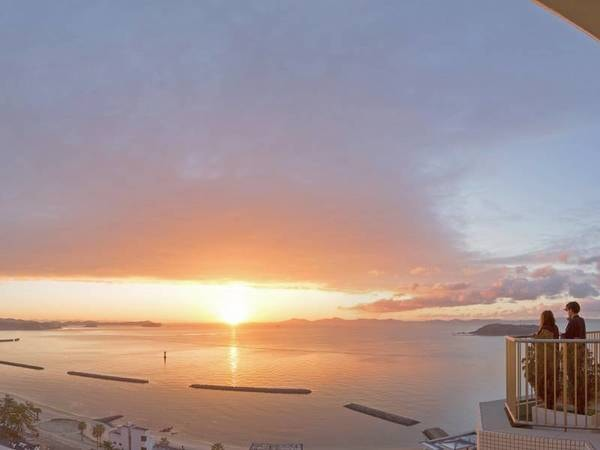 【眺望/例】三河湾を一望する絶好のロケーション