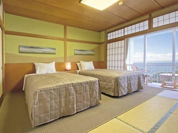 【客室/例】和ベッド客室(禁煙)