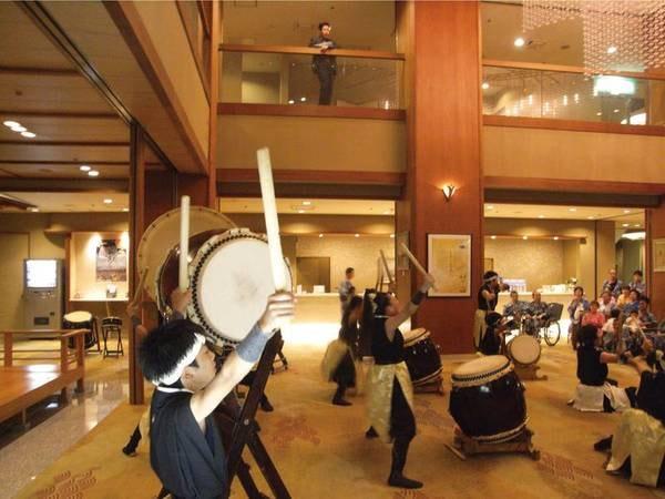 【和太鼓ショー】地元の子供達による和太鼓ショーは土日に開催!※中止の場合あり