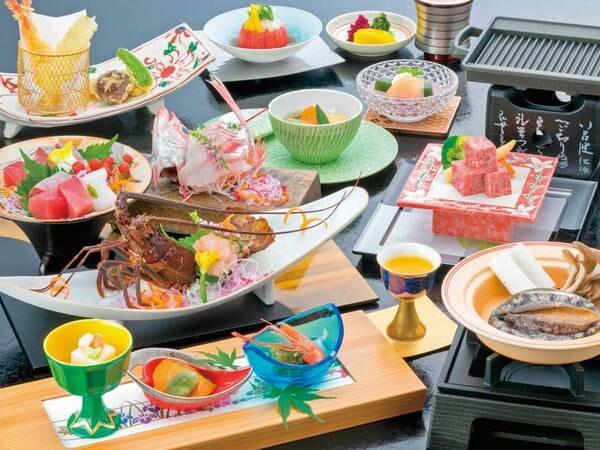 【夕食/例】煌めきの膳 ※写真一例※時季・仕入れにより変更の場合あり