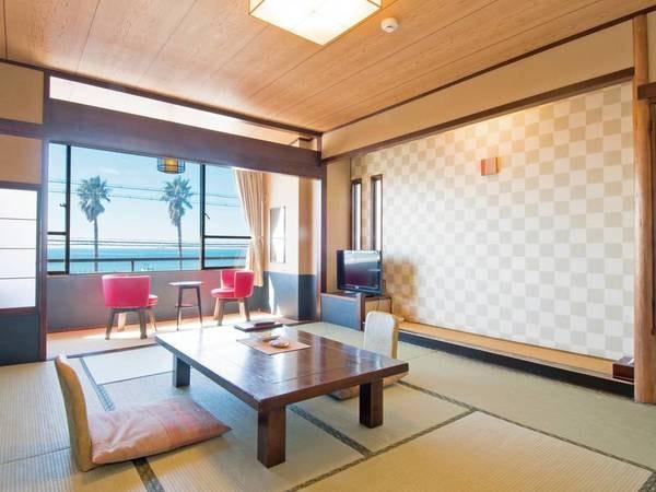 【和室/例】ゆったり寛げる10畳以上の和室を確約!