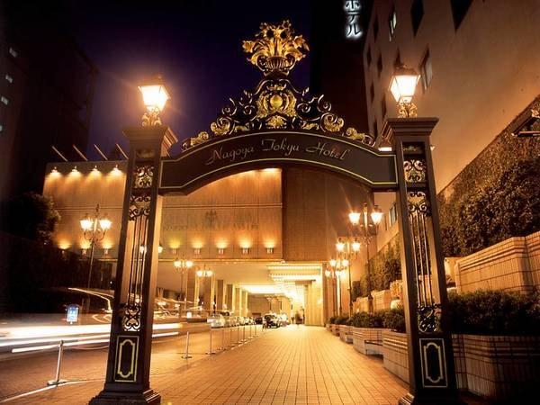 【エントランス】ヨーロピアンエレガンスに包まれた国際級ホテル