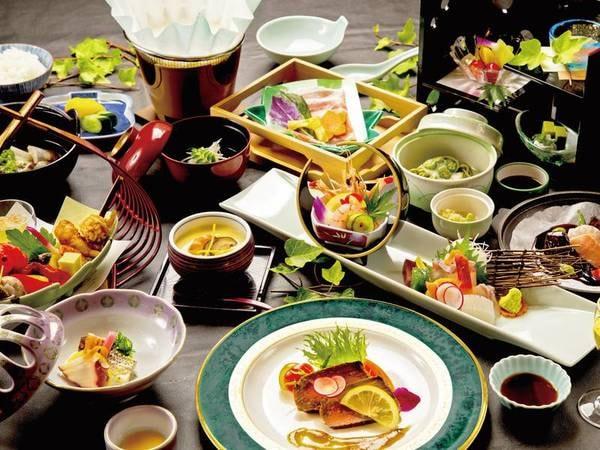 【季節の旬味会席/例】季節替りの料理長厳選の会席料理