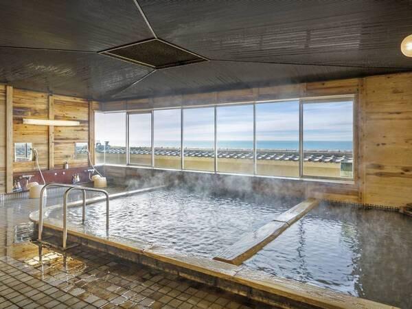【大浴場】知多半島随一の源泉かけ流しの湯