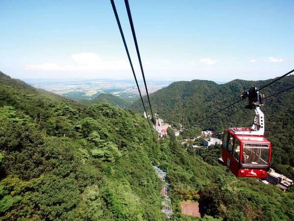 【周辺観光】御在所ロープウエイからの眺めは絶景!