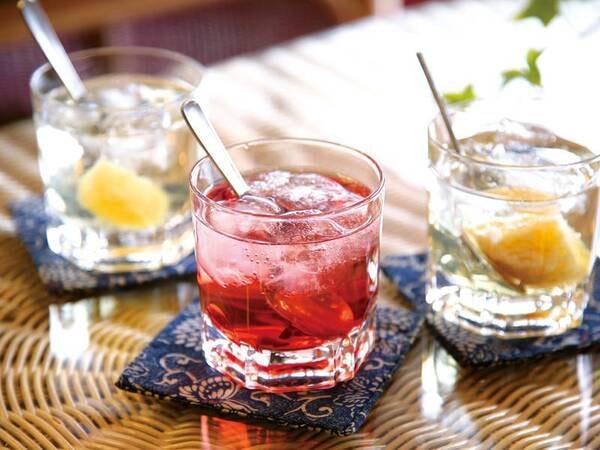 【おもてなし/例】女将特製のお酢ジュース