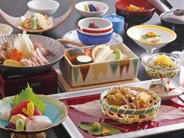 【お手軽会席/例】板長が創る月替わりの京風会席料理