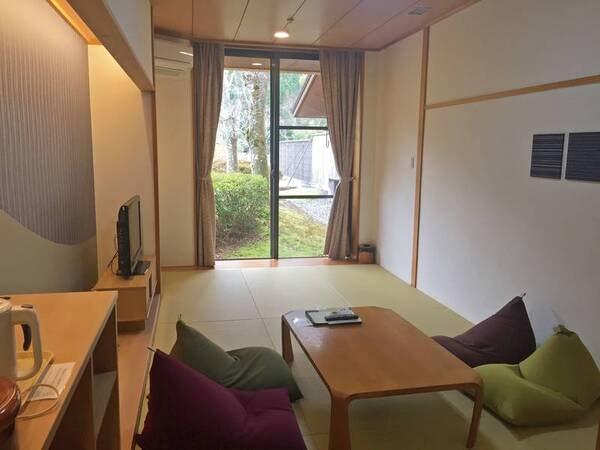 【新和室/例】伊勢の伝統芸能に心癒される、リニューアル済みの8畳和室